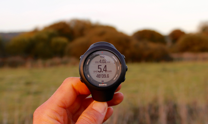 customised display on suunto ambit 3 sports watch