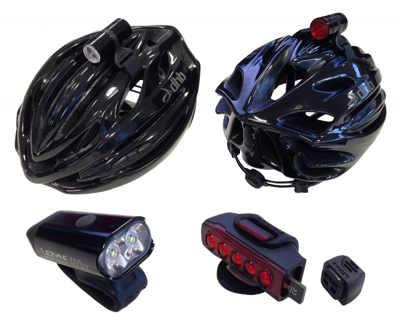 lezyne commuting lights set