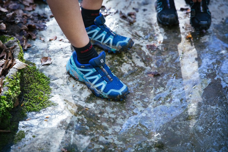 59d614933296 The Salomon Speedcross 4 GTX and ClimaShield options offer increased wet  weather protection