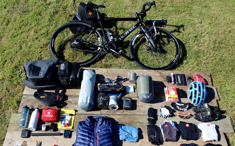 Bikepacking Kit List The Coasts And Cols Tour Kit Round