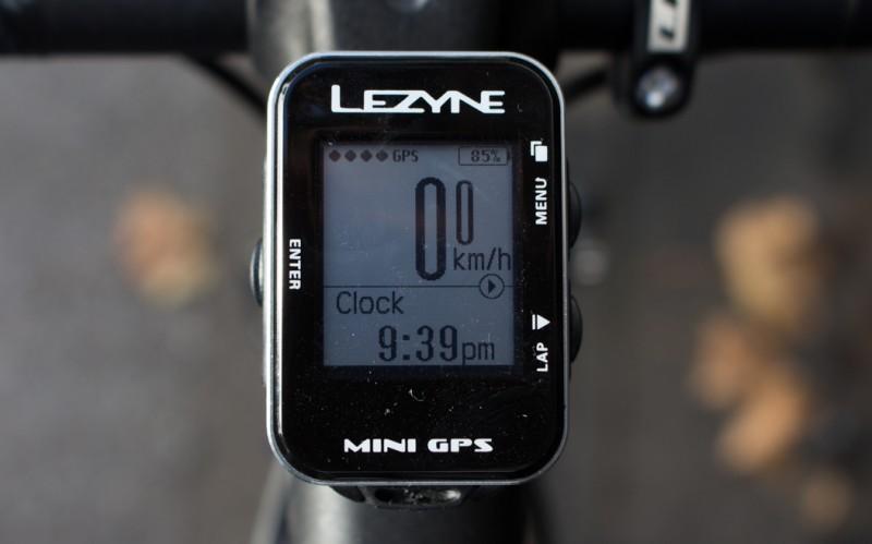 Lezyne Mini GPS Cycle Computer