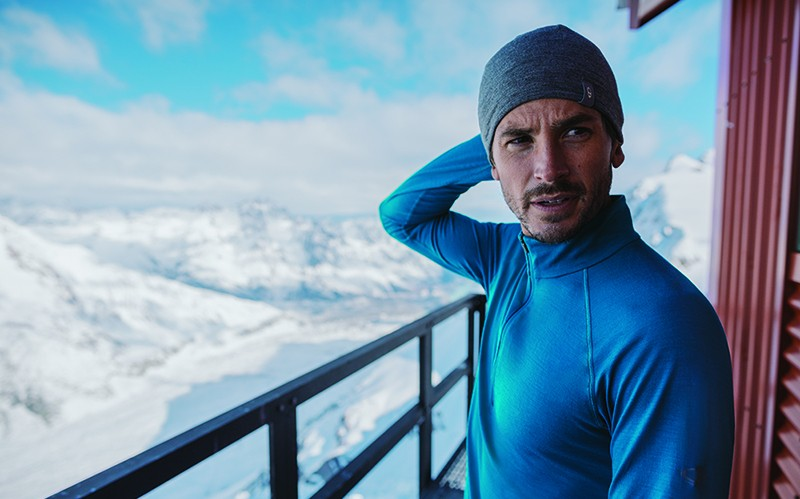 ICEBREAKER Merino Wool Drive LS Half Zip NEW WITH TAGS SMALL//MEDIUM Blue