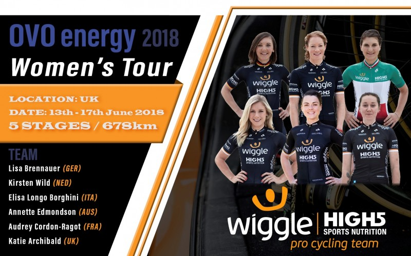 263c7ee2573 Get to know the Wiggle HIGH 5 OVO Women's Tour team | Wiggle Blog