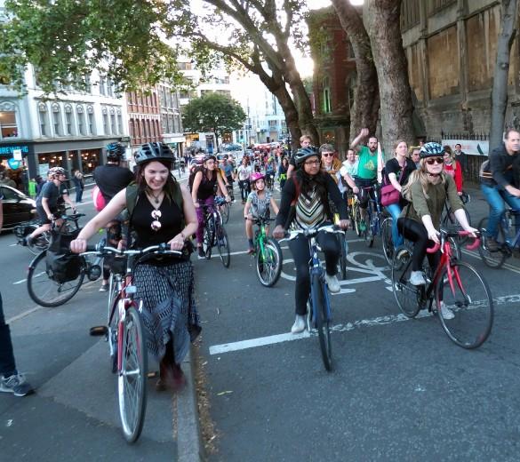Cycling commuters Bristol