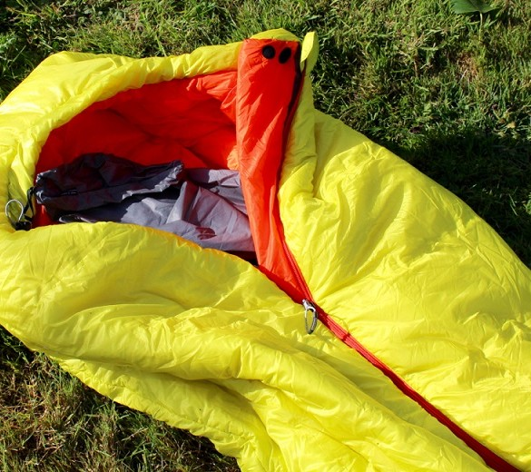 mountain hardwear spark sleeping bag