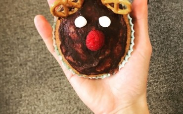 Recipe - Reindeer Chocolate Protein Christmas Cupcakes!