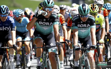 WIN a Bora Hansgrohe jersey signed by the Tour de France team