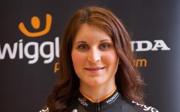 image of Team Wiggle Honda rider Elisa Longio Borghini