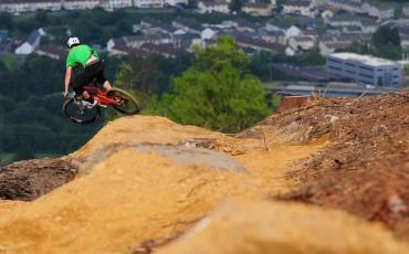 Rowan Sorrell at Bike Park Wales