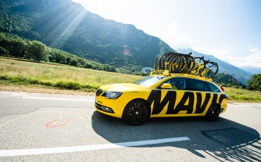 Win a ride in the Mavic car at the Tour De Yorkshire