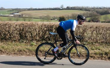 Ed out testing cycle clothing for Wiggle