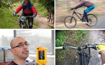 Naveed cycling pictures