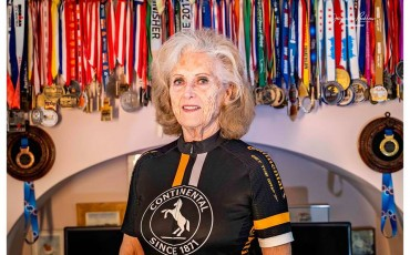 Meet Daphne Belt, the 80-year old triathlete
