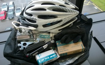 image of Berny's latest cycling accessories