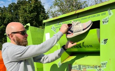 Get £20 to recycle your old shoes with Wiggle