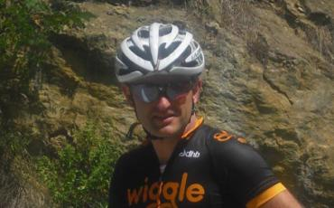 Picture of Richard Pearman in his Team Wiggle kit
