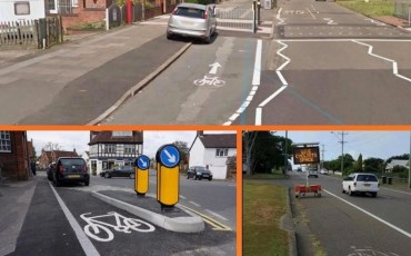 What makes a bad cycle lane?