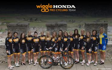 Team Wiggle Honda wallpaper photo of the team posing for a photo