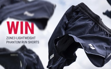 WIN a pair of Zone3 Lightweight Phantom Run Shorts