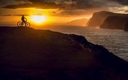 Sunset the Faroe Islands